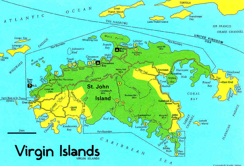 Picture Of The Virgin Island